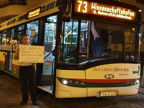 Nachtdienst bei den Magdeburger Verkehrsbetrieben