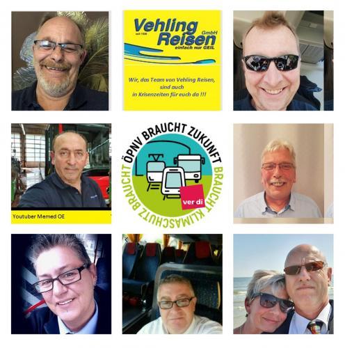 Auch in Krisenzeiten für Euch da: das Team von Vehling Reisen
